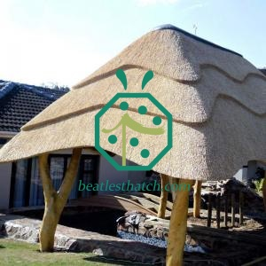 Various Synthetic Thatched Roof For BBQ Hut Building