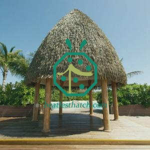 Beach Resort Cabana Artificial Palm Thatch Roof Cover