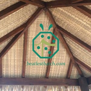 Artificial Bamboo Woven Mat For Patio Ceiling Lining Panel Tiles