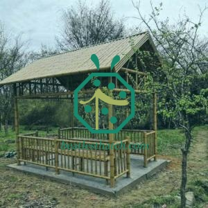 Stainless Steel Bamboo Cane For Gazebo Design and Construction