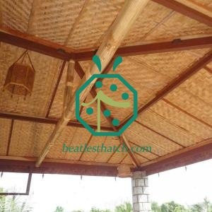 Outdoor Patio Synthetic Bamboo Ceiling Cover Materials