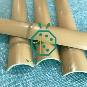 Plastic Garden Fencing Bamboo Slats For Home Backyard Decoration