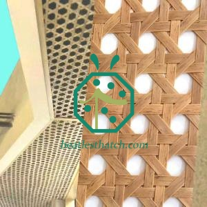 Wholesale Synthetic Cane Webbing Mesh Ceiling New York