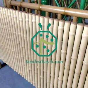 Custom 1 Inch Steel Bamboo Fence UK