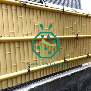 Artificial Siding Bamboo Panels For Cottage Interior Wall Covering