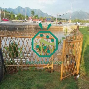 Anti-corrosion Steel Bamboo Fencing