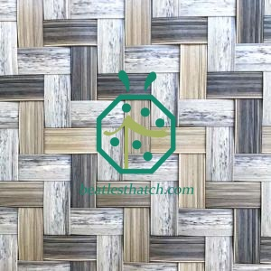 Plastic Bamboo Skin Panel For Wall And Ceiling Decoration