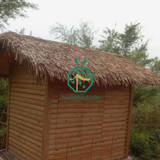 Long Lifespan Synthetic Patio Thatch Roof Designs