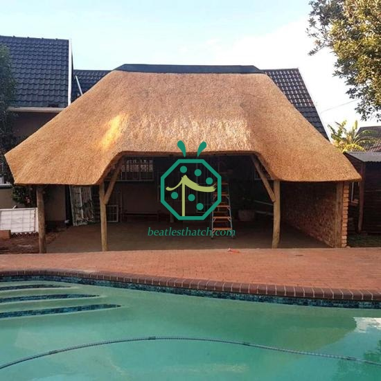 South Africa Artificial Lapa Thatch Roof Supplier