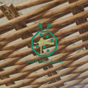 Balcony Ceiling Plastic Woven Wicker Wattle Panel