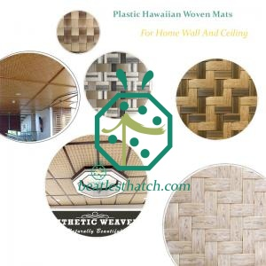 Innovative Synthetic Woven Mats For Resort Hotel Room Background