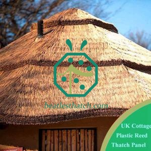 Cottage House Fireproof Artificial Reed Thatch Material Ireland