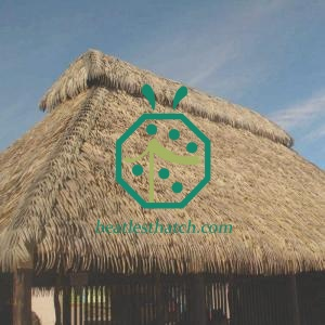 Fireproof Synthetic Palm Tree Thatch Roof For Sale Costa Rica