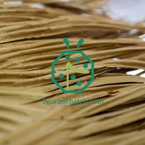 Synthetic reed thatch roof Chile