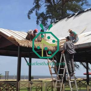 Fire Rated Synthetic Palm Thatch Roof Products Supplier For Brunei