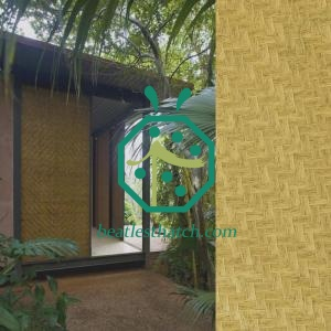 Plastic Bamboo Panel For Exterior Wall Decoration