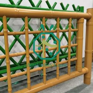 Home garden steel bamboo fence cover