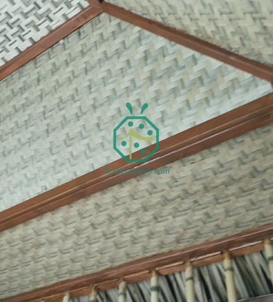 Synthetic Woven Grass Mat For Timber House Ceiling Lining in China