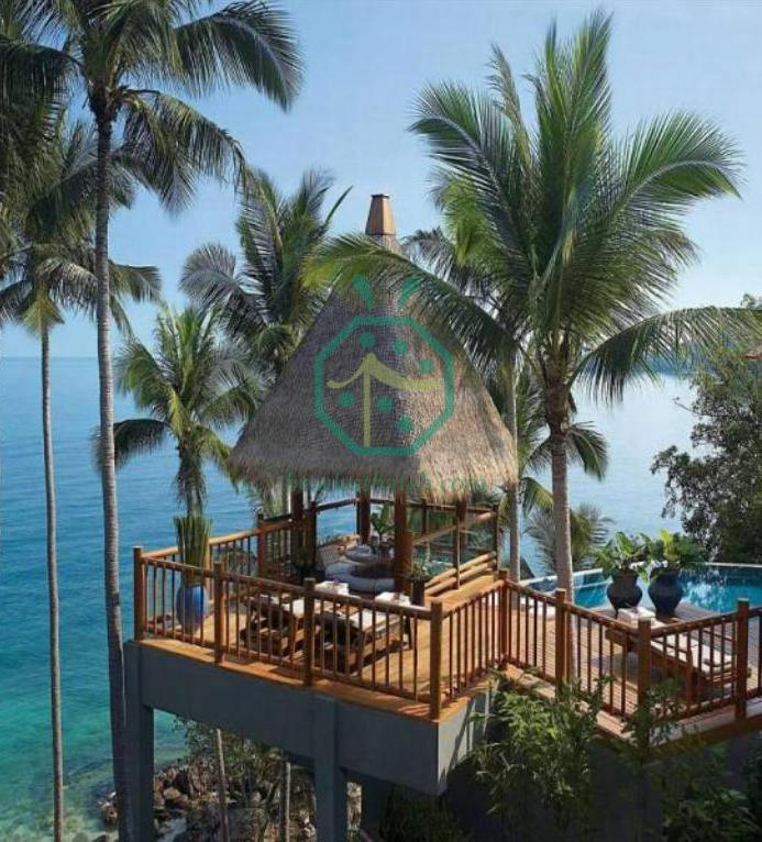 Thatched Roof Projects in Four Seasons Resort Koh Samui